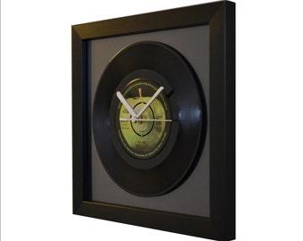 The Beatles - Hey Jude - Vintage 7″ Vinyl - Framed Wall Clock V2