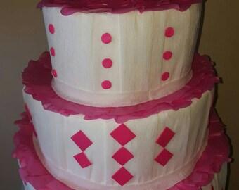 Huge custom wedding cake pinata