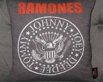 The Ramones T Shirt Throw Pillow