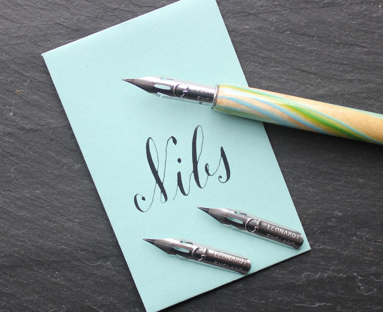 G Calligraphy Nib Set Of 2 Calligraphy Kit Modern