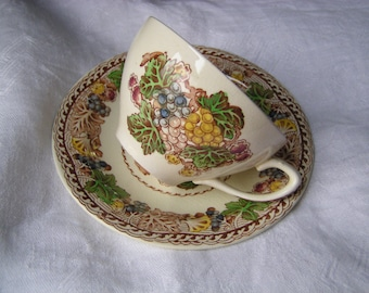 Wood and Sons Teacup and Saucer Hyde Pattern