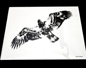 8X10 Eagle Print
