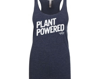 Vegan Shirt - Vegan Clothing - Vegan Tank Top - Plant Powered