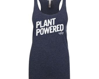 Vegan Shirt - Vegan Clothing - Vegan Tank Top - Plant Powered