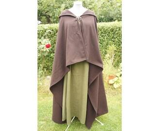 Viking rectangle Cape coat Celtic of medieval Roman