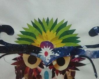 Original artwork - collage owl
