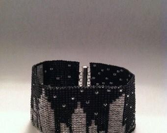 New York City Skyline Beaded Bracelet - FREE U.S. SHIPPING
