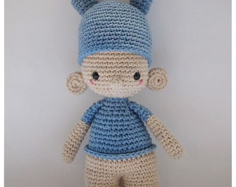 Lelio, one of the U.T.I.s - Crochet Pattern by {Amour Fou}