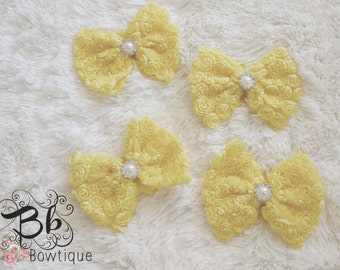Yellow Bow-tie Headband