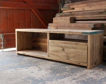 DYLAN | Reclaimed Wood TV Unit - Handmade & Bespoke