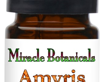 Miracle Botanicals Amyris - West Indian Sandalwood Essential Oil - 100% Pure Amyris Balsamifera - Therapeutic Grade...Free US Shipping