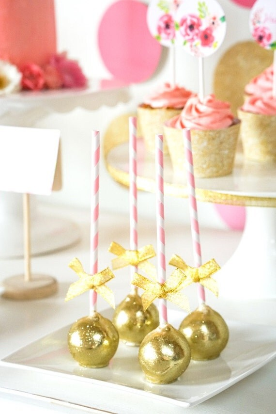 Decorating Cake Pops With Glitter : Royal Gold Cake Glitter for Decorating Desserts Glitter