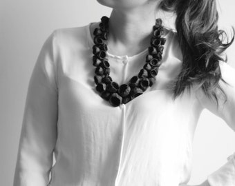 Eco-Friendly Necklace, Natural Material, Contemporary Jewelry