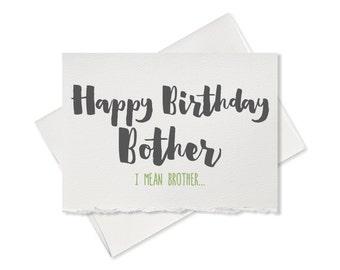 Funny birthday card funny greeting card funny happy birthday card happy birthday brother birthday card for your brother hilarious birthday