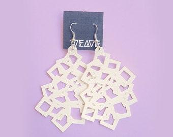 CUBE - Handmade earrings