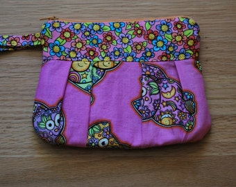 Cats on the Bag Wristlet
