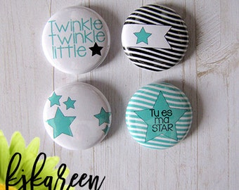 """Badge 1 """"- Twinkle Twinkle"""