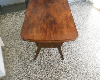 Art deco side table in style of Gio Ponti