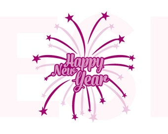 "Shop ""happy new year svg"" in Scrapbooking Supplies"
