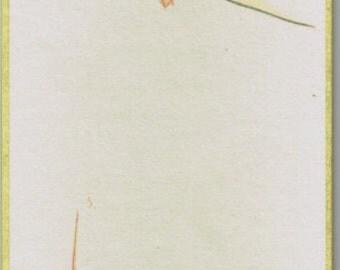 "Japanese woodblock print, Fukuda Suiko,""Ayu"""