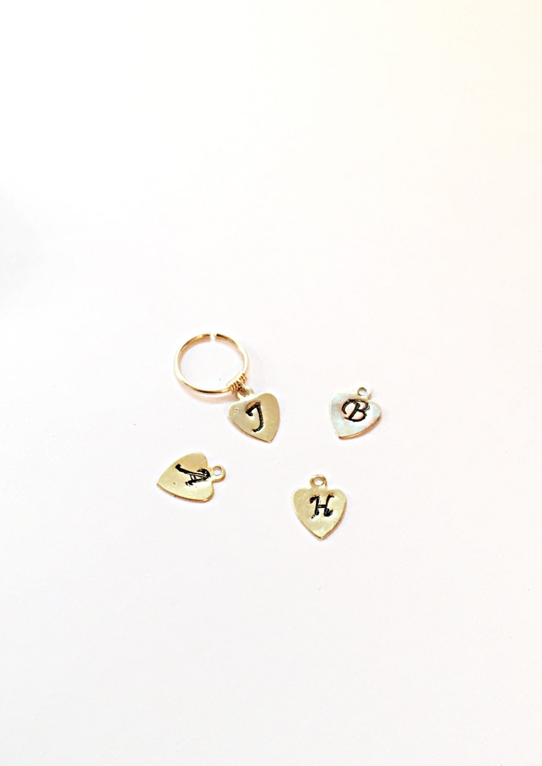20g personalized cartilage earring gold cartilage hoop tiny