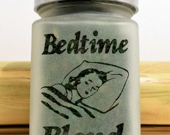 Bedtime Blend Stash Jar - Stoner Gifts & Weed Accessories by Twisted420Glass