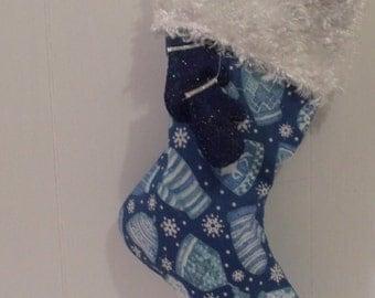 Handmade traditional Christmas Stocking