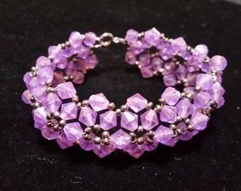 Beaded Bracelet - choice of 6 colors