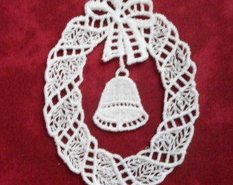 Lacy Christmas Ornaments (choice of one design)