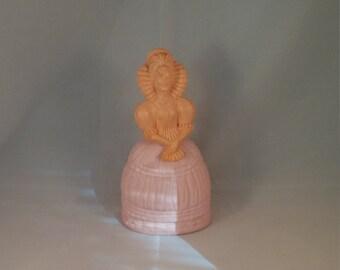 Avon Fashion Figurine Elizabethan perfume decanter, Avon perfume bottle, empty perfume bottle, collectible perfume Avon girl decanter