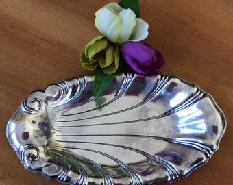 Vintage Neptune 1847 Rogers Bros Silverplate Serving Plate