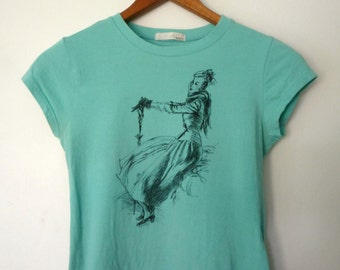 1990's Fashion Illustration T-shirt