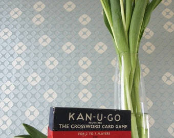 Vintage Kan U Go Card Game Never Been Used made in England 1960s