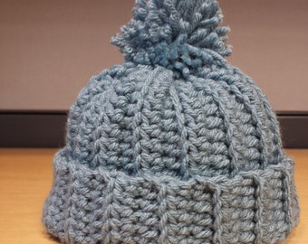 Ribbed Hat (Baby/Toddler)