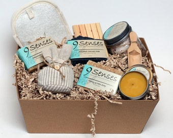 CORPORATE GIFT SET - Soap Gift Basket - Holiday Gift - Christmas Gift Basket - Gift Basket - Free Shipping