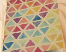 Note book 16 pages - geometric pattern - design