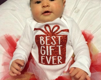 Christmas Best Gift Ever Onesie