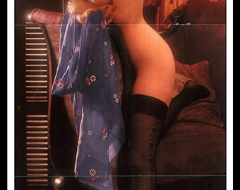 "Mature Playboy June 1973 : Playmate Centerfold Ruthy Ross Gatefold 3 Page Spread Photo Wall Art Decor 11"" x 23"""