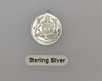 Sterling Silver Nottingham Coat of Arms