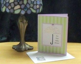 Baby Shower ( Umbrella) Card