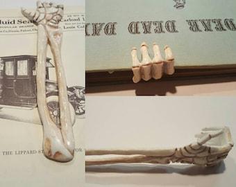 skeleton arm bookmark