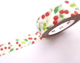 Cherry washi tape, Fruits masking tape, Stationery gift idea, Spring decor, DIY wedding Cherry blossom Kawaii washi tape Japanese stationery
