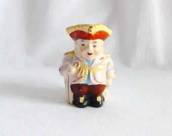 Vintage Toby Jug Pitcher Japan - Miniature Toby Mug Made in Japan - Colonial Japan Toby Mug Figurine - Miniature Toby Jug Made in Japan