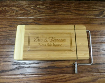 Personalized Cheese Cutting Board