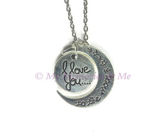 I Love You to the Moon and Back Necklace [P027]