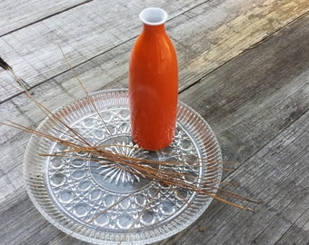 Orange Takahashi Vase - Vintage 70's