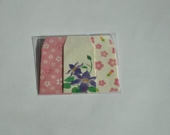 Japanese decorative coin envelopes