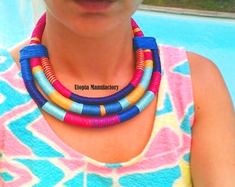 Massai Necklace African jewelry Africa necklace african necklace tribal necklace ethnic necklace Statement necklace Gift For Her