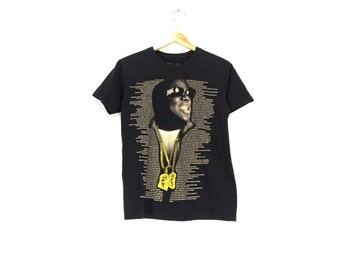BIGGIE SHIRT // Size Small // Notorious BIG Shirt // Biggie Smalls Shirt // Biggie Shirt // Notorious Big // Biggie T-Shirt // Rap Shirt