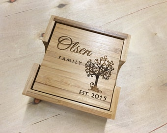 Coasters, Christmas Gift, Stocking Stuffer, Wood Coasters, Wife, Gift For Her, Anniversary, Wedding, Gifts For Mom, Womens, Gift for Women